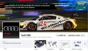 Audi bei Facebook