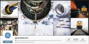 B2B Marketing auf Instagram von General Electric