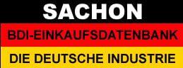 SACHON - Die Deutsche Industrie - Einkaufsführer und Nachschlagewerk
